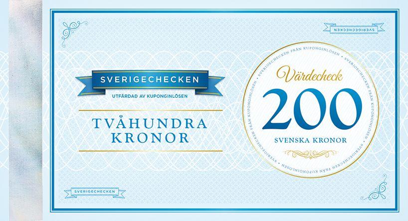 Sverigechecken 200