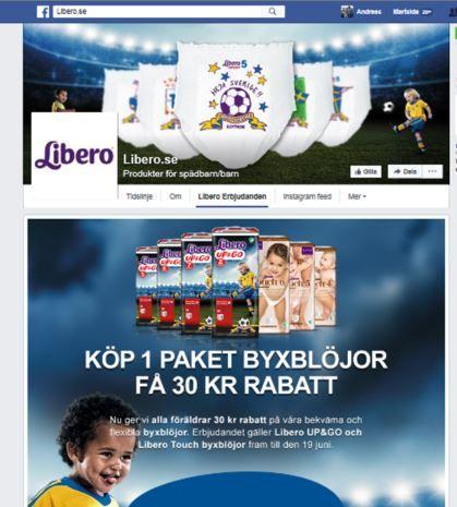 Facebook-kampanj med kuponger